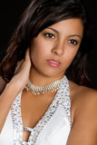 Beautiful Mexican Girl. Beautiful young mexican girl portrait Royalty Free Stock Photos
