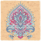 Beautiful Mexican Tribal vector  ornament Stock Image