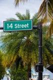 Beautiful Miami Beach stock photo