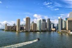 Beautiful Miami landscape Stock Images