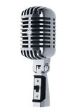 Beautiful microphone Stock Photo