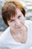 Beautiful middle age woman Stock Photo