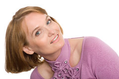 Beautiful middle aged woman Stock Photos
