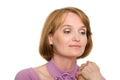 Beautiful middle aged woman Royalty Free Stock Photo