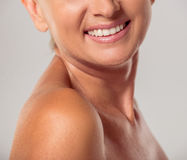 Beautiful middle aged woman Royalty Free Stock Photos