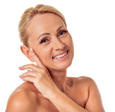 Beautiful middle aged woman Stock Image