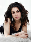 Beautiful middle eastern girl stock photography