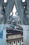 Beautiful Milan catheral catholic church Duomo di Milano stock photography