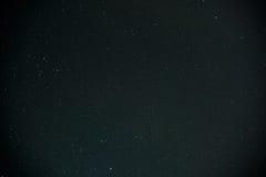 Beautiful milky way on a dark night sky with stars Stock Photography