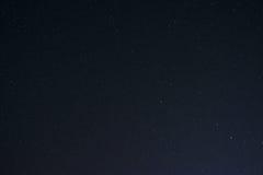 Beautiful milky way on a dark night sky with stars Royalty Free Stock Image
