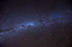 Milky way. Beautiful milky way in the night sky Royalty Free Stock Photo