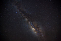 Beautiful milkyway on a night sky.  Stock Photography
