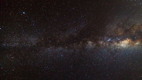 Beautiful milkyway on a night sky Stock Photos