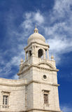 Beautiful minaret of Victoria Memorial Hall Royalty Free Stock Photo