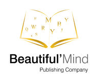 Beautiful Mind Logo. Logo Design for Publishing company Royalty Free Stock Photo