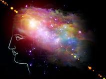 Beautiful Mind vector illustration