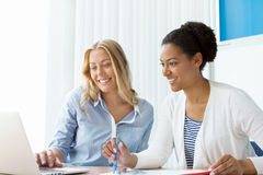 Beautiful minds work together Royalty Free Stock Images