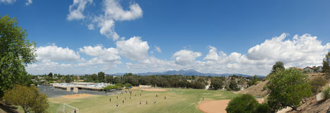 Beautiful Mission Viejo. Panoramic View of Mission Viejo, California Stock Photo