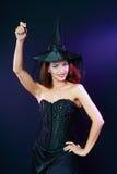 Beautiful misteriouse woman Stock Photo