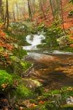 Beautiful Misty Waterfall royalty free stock photography