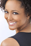 Beautiful Mixed Race African American Girl Woman Stock Photography