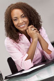 Beautiful Mixed Race African American Woman Stock Photos