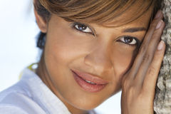 Beautiful Mixed Race African American Woman Stock Photography
