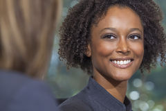 Beautiful Mixed Race African American Woman Businesswoman Royalty Free Stock Images