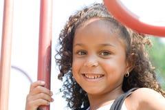 A beautiful mixed race child Stock Photos