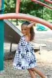 A beautiful mixed race child Stock Image