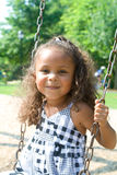 A beautiful mixed race child Stock Photos