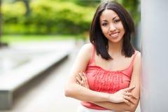 Beautiful mixed race woman Stock Photos