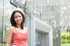 Beautiful mixed race woman Royalty Free Stock Images