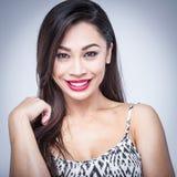 Beautiful Mixed Race Woman Royalty Free Stock Image