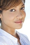 Beautiful Mixed Race Young Woman Royalty Free Stock Photo