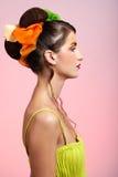 Beautiful model Stock Photos