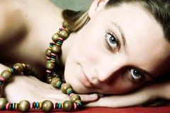 Beautiful model Stock Image