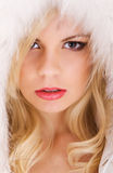 Beautiful Model With Blond Hair Royalty Free Stock Image