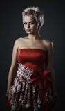 Beautiful model dressed as fashion fairy Royalty Free Stock Photography