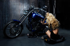 Beautiful model royalty free stock image