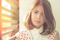 Beautiful Model girl royalty free stock image