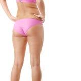 Beautiful model in pink bikini Stock Images