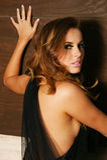 Beautiful Model Portrait Stock Image