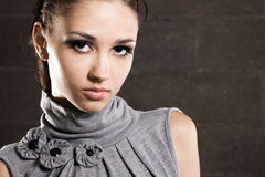 Beautiful model portrait Royalty Free Stock Images