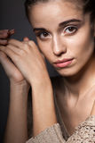 Beautiful model portrait Stock Photography