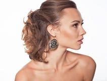 Beautiful model portrait in studio Stock Images