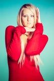 Beautiful Model Posing Stock Photos