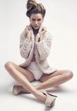 Beautiful model royalty free stock photos