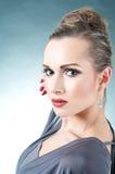 Beautiful Model Profile Royalty Free Stock Image