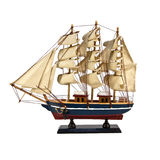 Beautiful model ship Stock Images